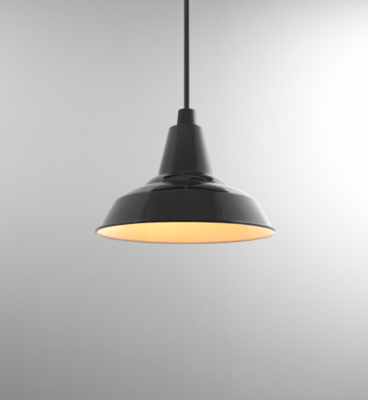 ASDA Metal Spun Pendant - Black