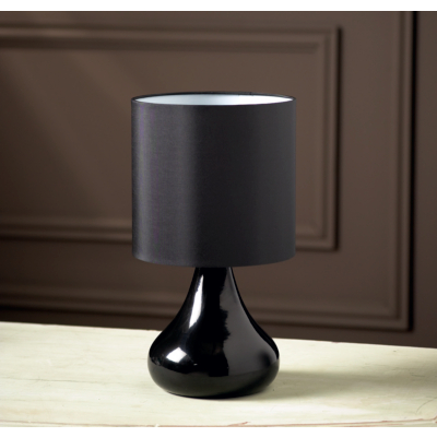 buy cheap black table lamp compare lighting prices for. Black Bedroom Furniture Sets. Home Design Ideas