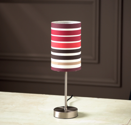 asda touch table lamp with ripple light shade review. Black Bedroom Furniture Sets. Home Design Ideas