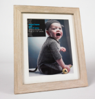 ASDA Distressed Light Wood Photo Frame - 10x8 Inch