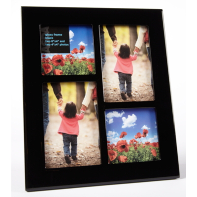 ASDA Black Gloss Multiframe, Black