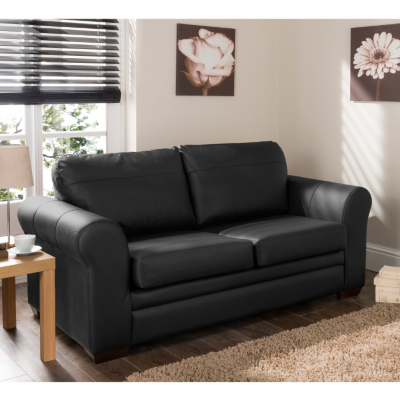 Bedroom Sofa Black Leather Sofablack Leather Sofa