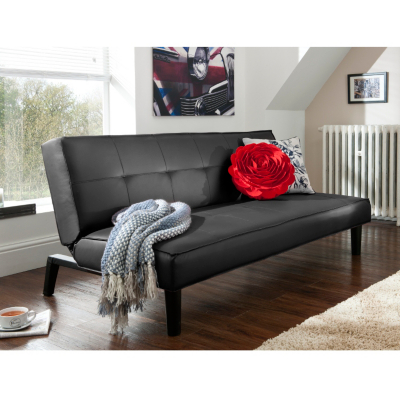 Twickenham Sofabed in Black