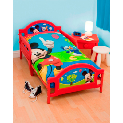 Disney Mickey Mouse Toddler Bed Multi
