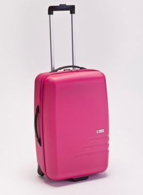 Quarto Pink Luggage Case  Medium Pink
