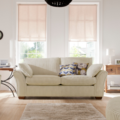 Moorgate Large Sofa in Ivory Ivory