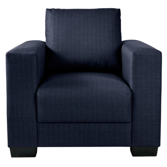 Venlaw Armchair In Navy Sofas Amp Armchairs Asda Direct