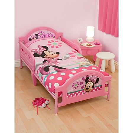 disney minnie mouse bedroom range furniture george at asda