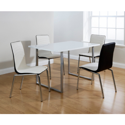 Berlin Dining Set Chrome Plated 25216