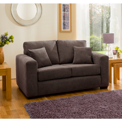 Lincoln Medium Sofa in Brown, Brown
