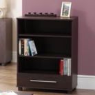 Ohio Wenge Finish Small Bookcase