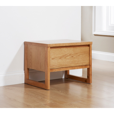 Asda Oslo Bedside Cabinet In Oak 19074 Bedroom Furniture Review Compare Prices Buy Online