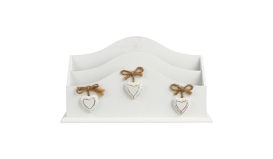george home cream letter rack home accessories george. Black Bedroom Furniture Sets. Home Design Ideas