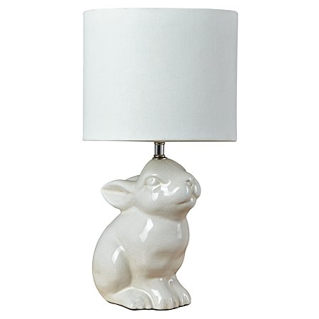 george home rabbit lamp lighting asda direct. Black Bedroom Furniture Sets. Home Design Ideas