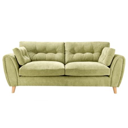 Richmond Large Sofa In Green Sofas Amp Armchairs Asda Direct