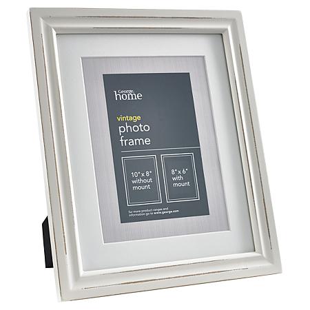 george home cream vintage frame 8 x 6 inch frames. Black Bedroom Furniture Sets. Home Design Ideas
