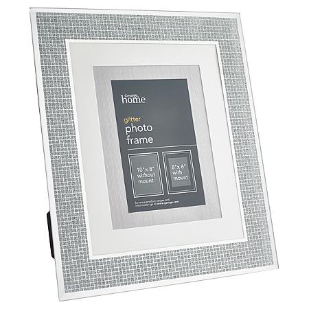 silvered and glittered frames craftbnb. Black Bedroom Furniture Sets. Home Design Ideas