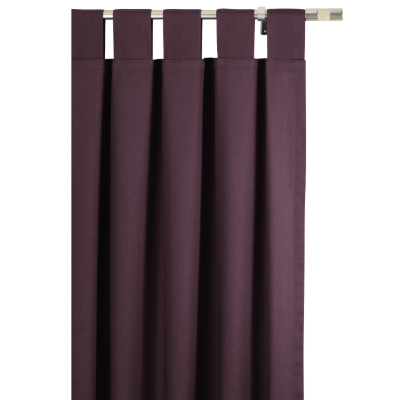 Tab Top Curtains - Purple, 66 x 54in,