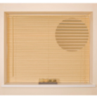 Natural Wood Grain Venetian Blind - Various Sizes