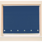 Navy Square Eyelet Roller Blind - Various Sizes