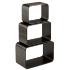 Set of 3 Bentwood Cubes