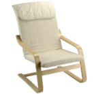Relaxer Chair - Cream