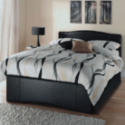 Toronto Faux Leather Bed - Double