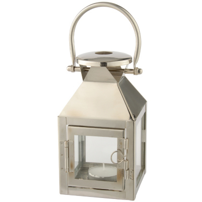Metal Lantern With Tea Light