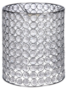 ASDA Beaded Cylinder Pendant - Clear