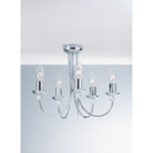 ASDA 5 Arm Chandelier Ceiling Light Fitting