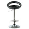 Crescent Bar Stool - Black alternative view