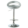 Crescent Bar Stool - Silver alternative view