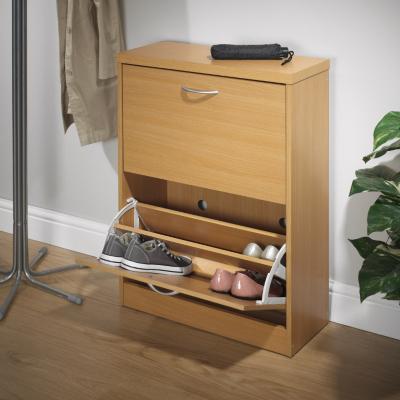 asda shoe cabinet beech effect beech effect review. Black Bedroom Furniture Sets. Home Design Ideas