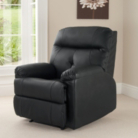 Chicago Recliner Chair - Black
