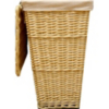 ASDA Light Willow Laundry Hamper main view