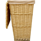 ASDA Light Willow Laundry Hamper