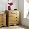 Hampton Pine Large Chest of Drawers main view