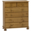 Hampton Pine Large Chest of Drawers alternative view