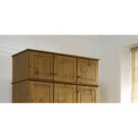 Hampton Pine 3 Door Top Box