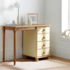Hampton Cream Pine 4 Drawer Dressing Table