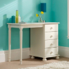 Hampton White 4 Drawer Dressing Table main view