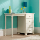Hampton White 4 Drawer Dressing Table