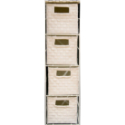 ASDA 4 Drawer Storage Unit - White