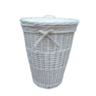 ASDA White Willow Laundry Hamper - 58cm