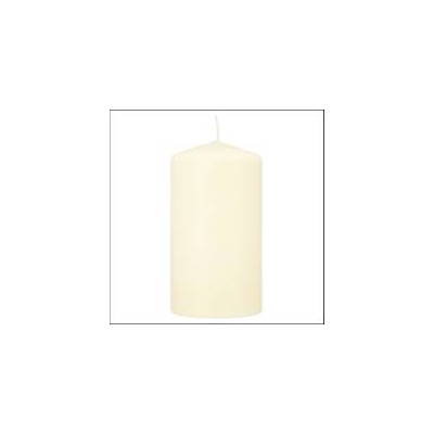 ASDA Medium Pillar Candle - Cream