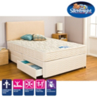 Silentnight Miracoil3 Ortho Double Divan 4 Drawers