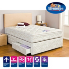 Silentnight Miracoil3 Cushion Top Double Divan - Various Storage