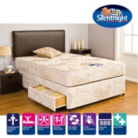 Silentnight Miracoil3 Gold Single Divan - Various Storage