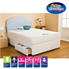 Silentnight Miracoil 3 Memory Foam Single Divan - Various Storage