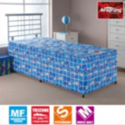 Airsprung Kids Anti-Dust mite Quilted Divan Shorty - Various Storage